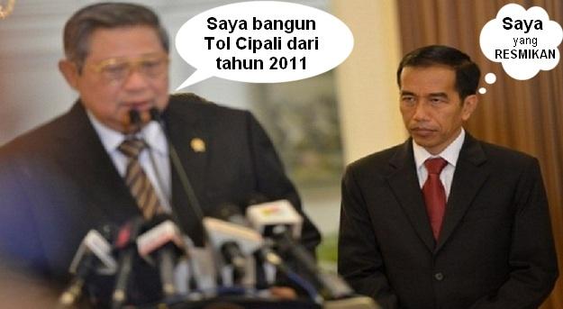 Prestasi Jokowi dari Cipali sampai Interstellar
