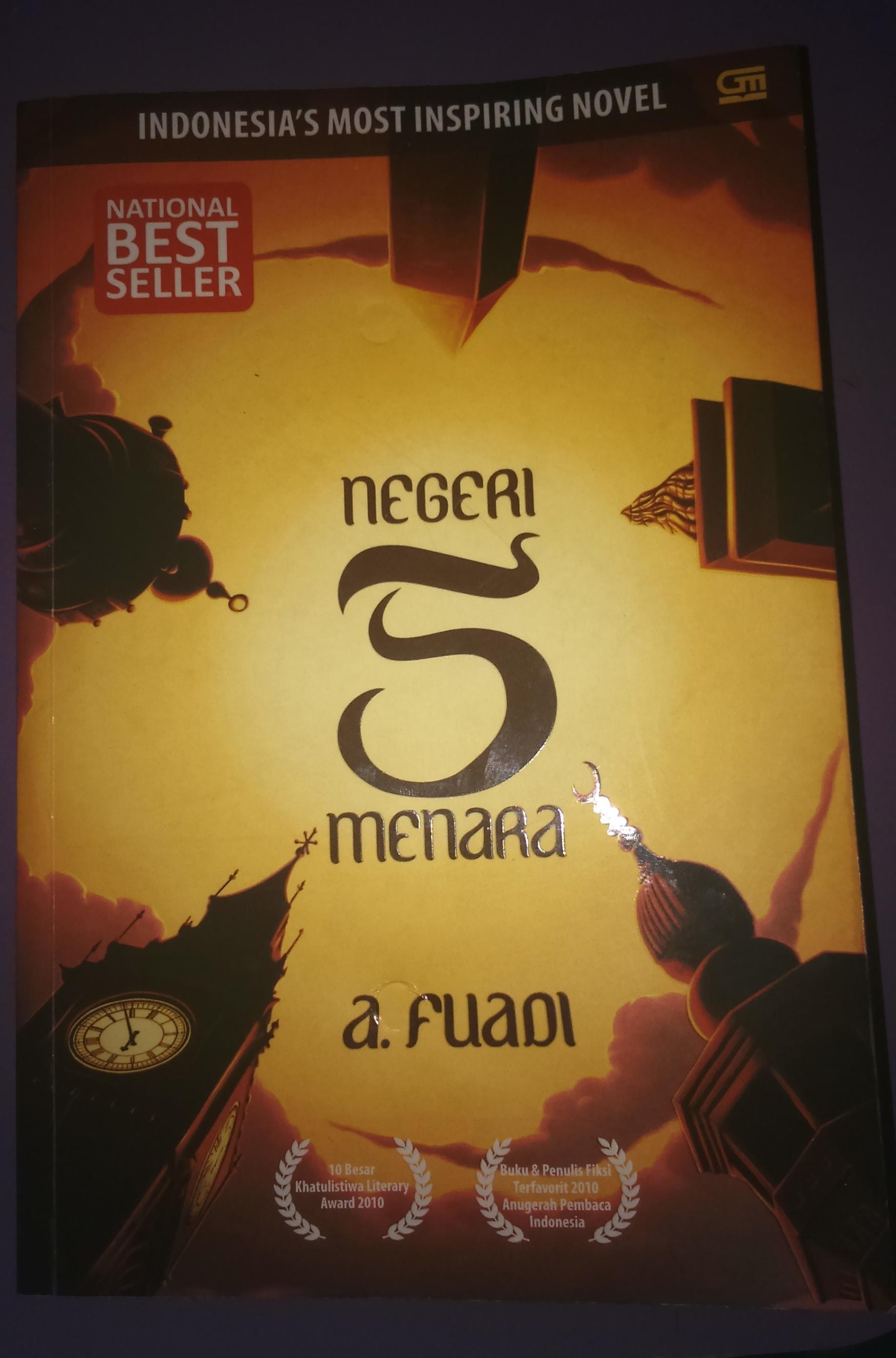 Resume Novel Negeri 5 Menara