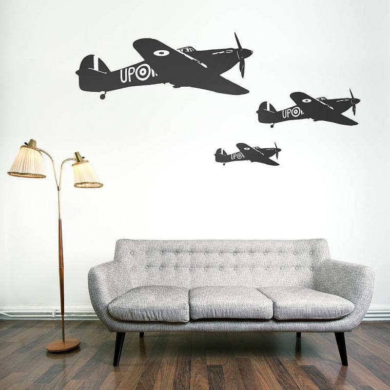 8 Inspirasi Wall Sticker untuk Kamar-kamar Kamu