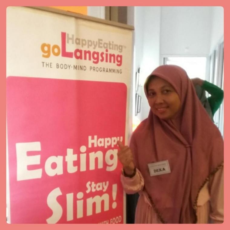 Happy Eating Golangsing: Karena Aku Mau Langsing, Sehat, dan Bahagia.