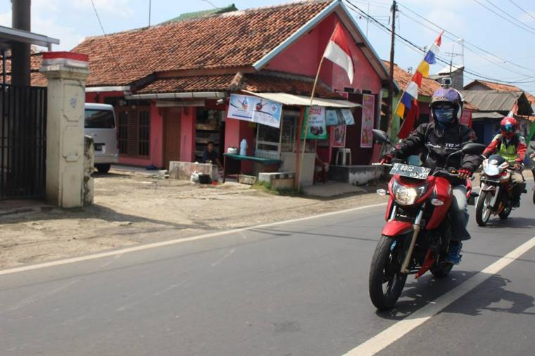 Menguji Ketangguhan TVS Apache RTR 200 4V Jakarta Purwakarta