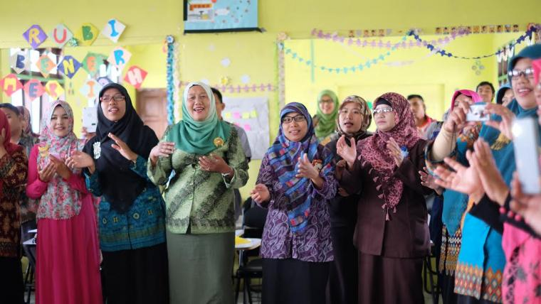 Belajar Kurikulum 2013 bersama Guru di Bener Meriah