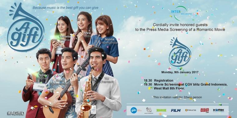"""[Update] Daftar Peserta Nobar Film Thailand """"A Gift"""" bersama KOMIK!"""