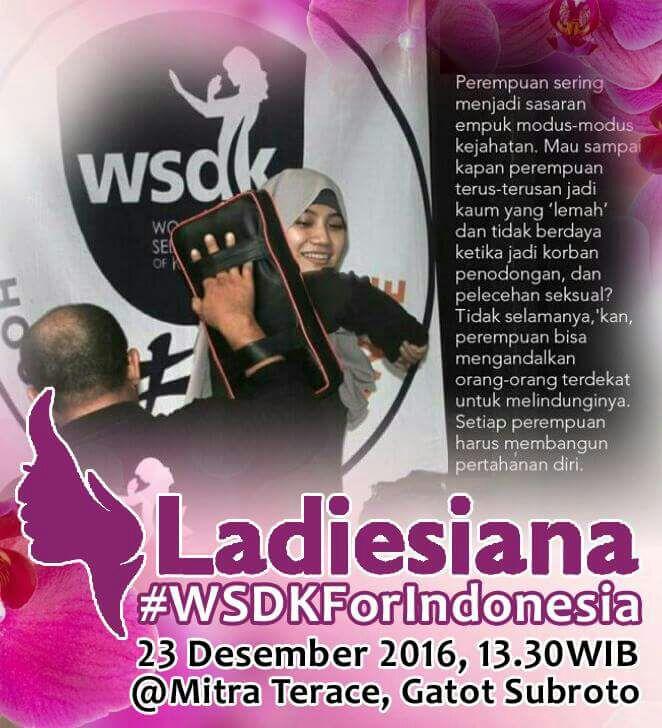 Pemenang Review Self-defense Training for Ladiesiana
