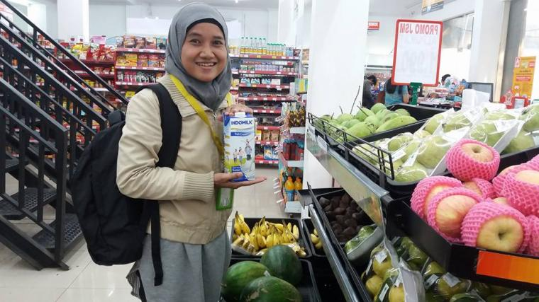 Indomilk Menjadi Pilihan Terbaik Keluarga Kami