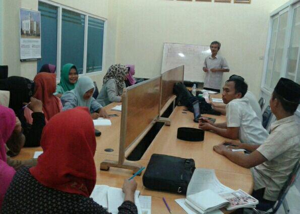 [Komed] Meretas Sekat Lewat Pelatihan Jurnalistik di Masjid Mubarak, Medan