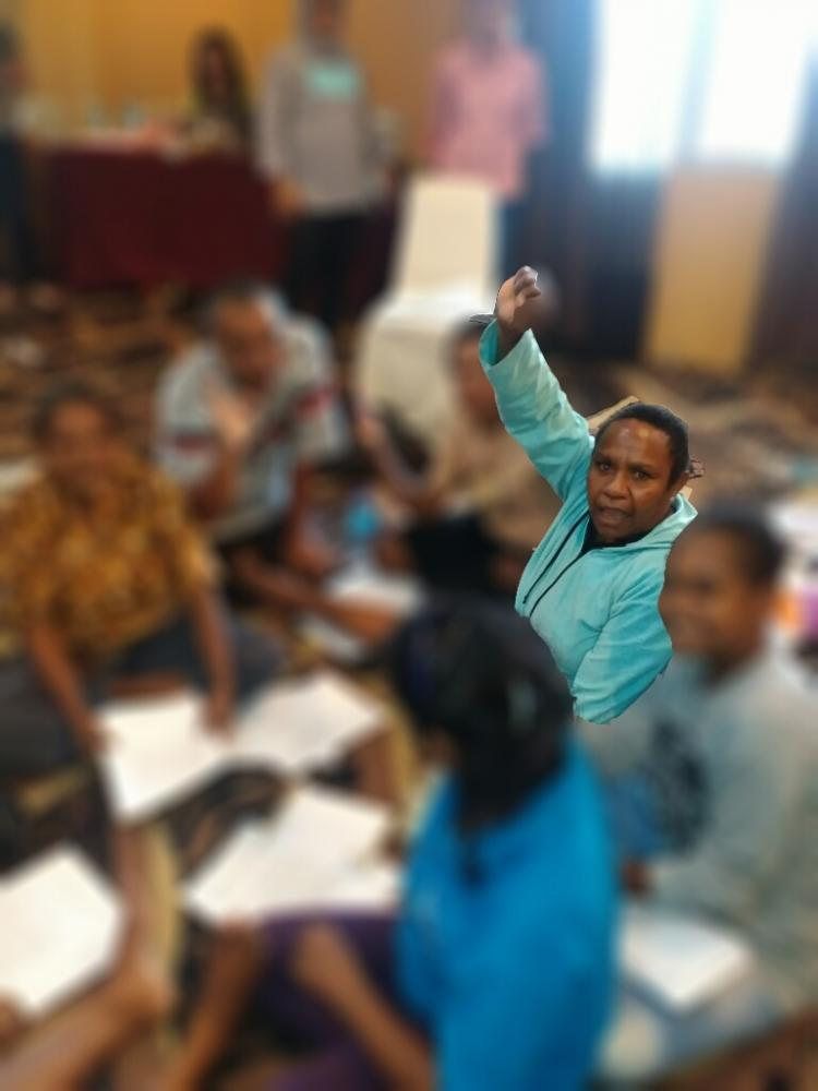 Foto Story: Belajar kepada Mama di Papua