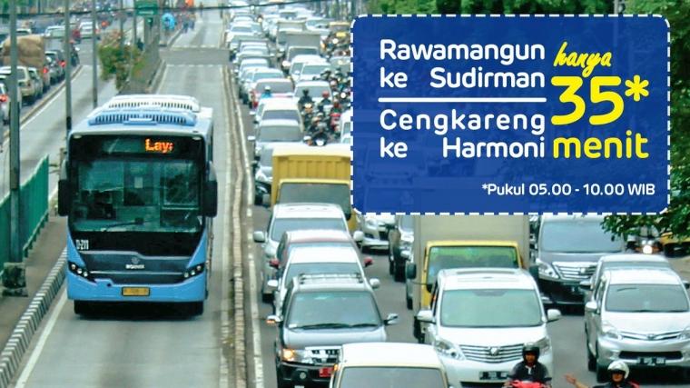 Transjakarta, Berani-beraninya Memasang Target