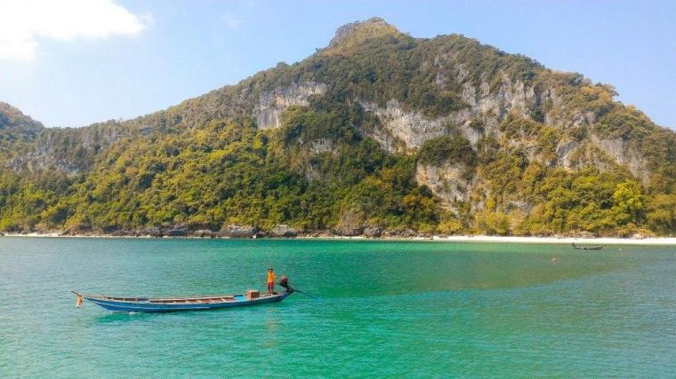 """Satu Hari di """"Tiruan"""" Raja Ampat, Thailand Selatan"""