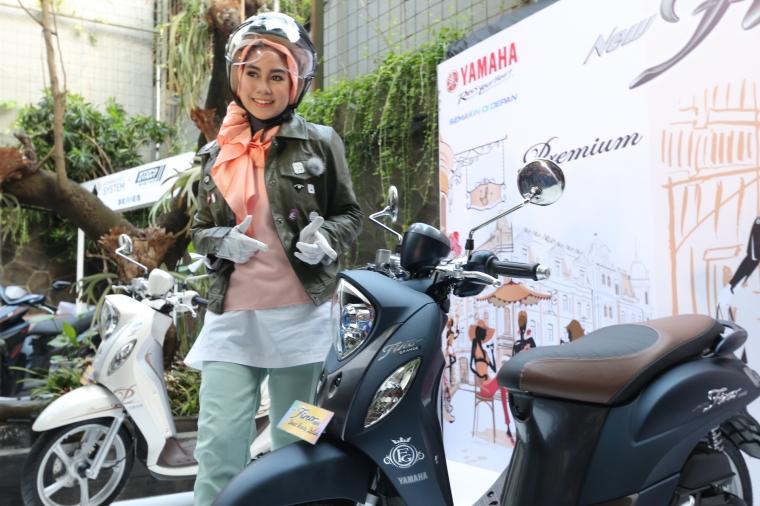 Yamaha Fino Grande, Tetap Aman di Tanjakan dengan Smart Lock System
