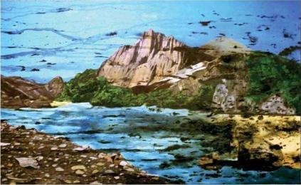 Puisi   Cerita dari Pinggiran Danau, Pantai dan Kali