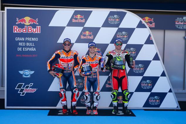 Dani Pedrosa Pole Position MotoGP Jerez, Rossi Start Ke-7