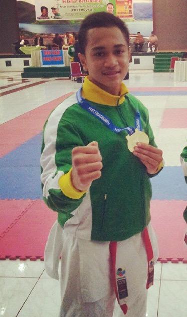 Fernanda Edianto, Atlet Karateka Medan dengan Segudang Prestasi