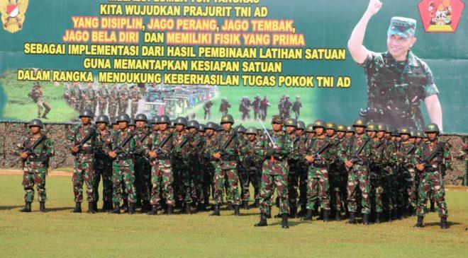 Jenderal TNI Mulyono Buka Lomba Peleton Tangkas 2017