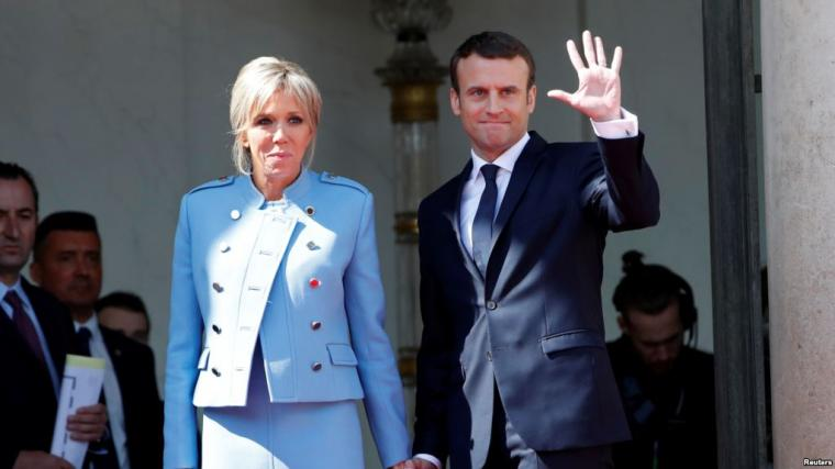 Setelah Melihat Emmanuel Macron, Masihkah Ragu Punya Suami yang Jauh Lebih Muda?