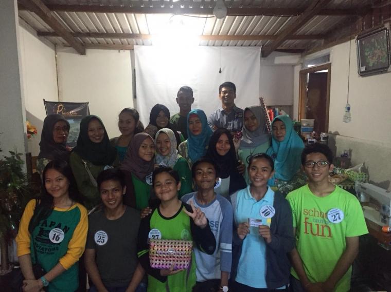 40 Semifinalis Duta Lingkungan Hidup Balikpapan ke Yayasan Boss