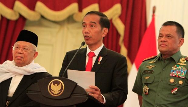 Jokowi Mulai Menggertak