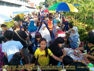 Car Free Day, Pasar Minggu di Lawang Malang