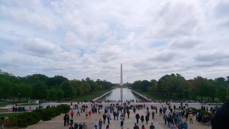 Menjenguk Thomas Jefferson dan Abraham Lincoln di National Mall, Washington DC