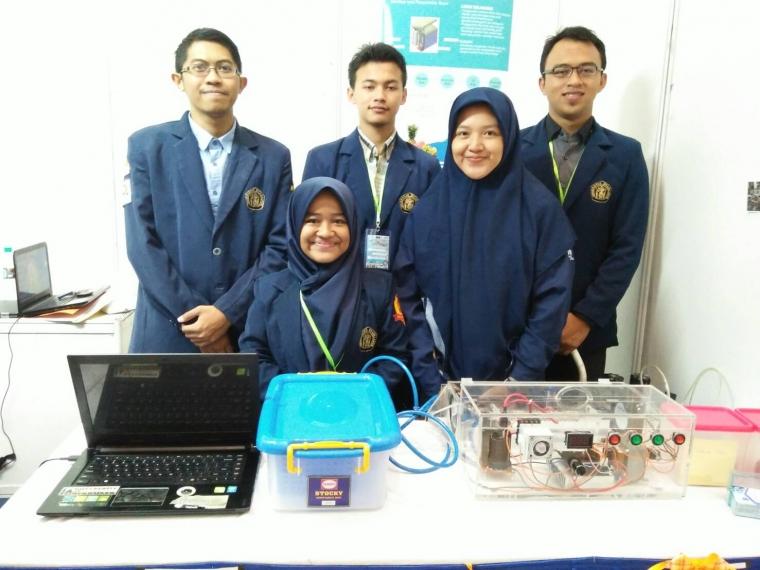 Karya Mahasiswa UB: Alat Sanitizer dan Preservation Room