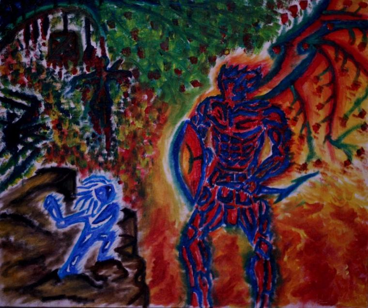 Puisi   Keluh Rerumputan Kepada Api yang Berkobar