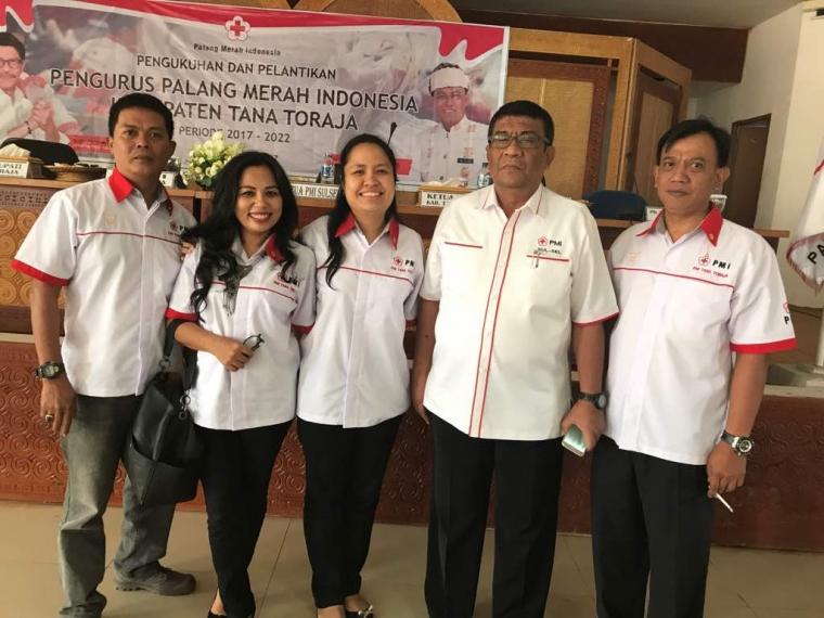 Pelantikan Pengurus PMI Tana Toraja Maju Melayani