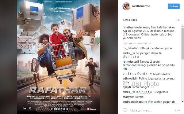 Rafathar, Film Keluarga Indonesia Nuansa Hollywood?
