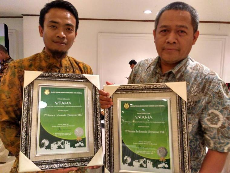 Berhasil Kelola dan Rawat Kelestarian Lingkungan, PT Semen Indonesia Gondol Penghargaan