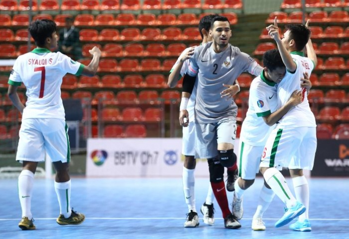 Cara Mengesankan Timnas Futsal Bergerilya di AFC Championship U-20