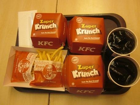 Burger KFC Zuper Krunch, Burger yang Cinta Kesehatan Keluarga Indonesia
