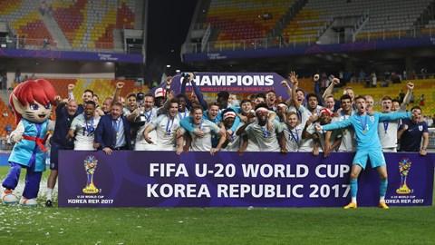 Inggris Juara Piala Dunia U20 Setelah 20 Tahun Tidak Pernah Menang