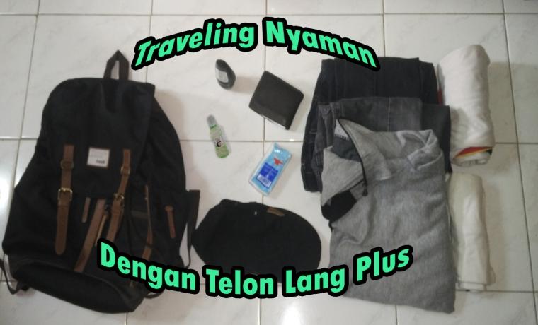 Traveling Nyaman dengan Telon Lang Plus