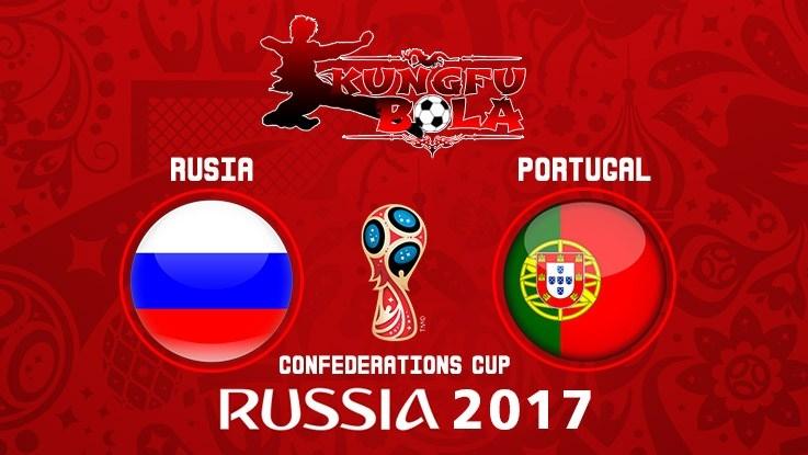 Prediksi Rusia Vs Portugal 21 Juni 2017