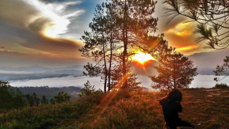 Tongkonan Alloan Buntu Marinding Spot Sunrise yang Bikin Baper-baperan