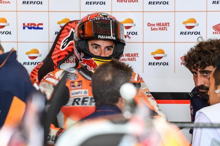 Marc Marquez 8 Kali Juarai MotoGP Sachsenring Jerman dan Nasib Rossi yang Tanpa Podium