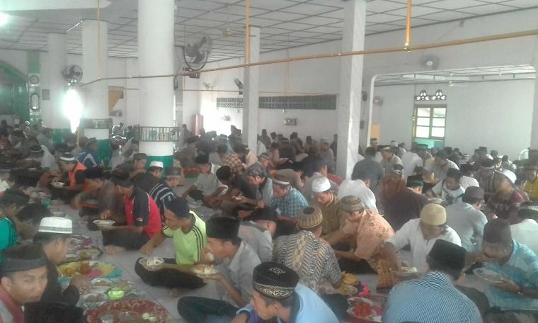 Tradisi Buka Puasa Enam di Labu, Kabupaten Bangka