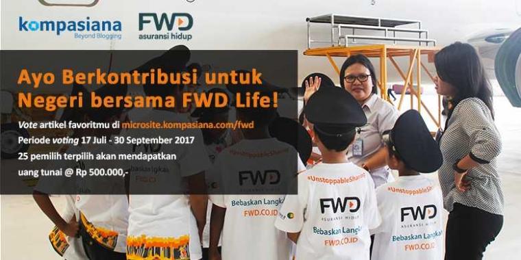 Yuk Ikuti Kompetisi Merespons Artikel Bertema Sosial dari FWD!