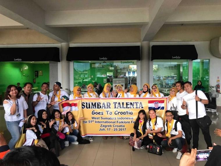 Sumbar Talenta Wakili Indonesia di International Folklore Festival ke 51 di Croatia