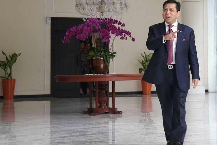 Setya Novanto Dijerat KPK Pada Pukul 7 Malam, 17-7-2017