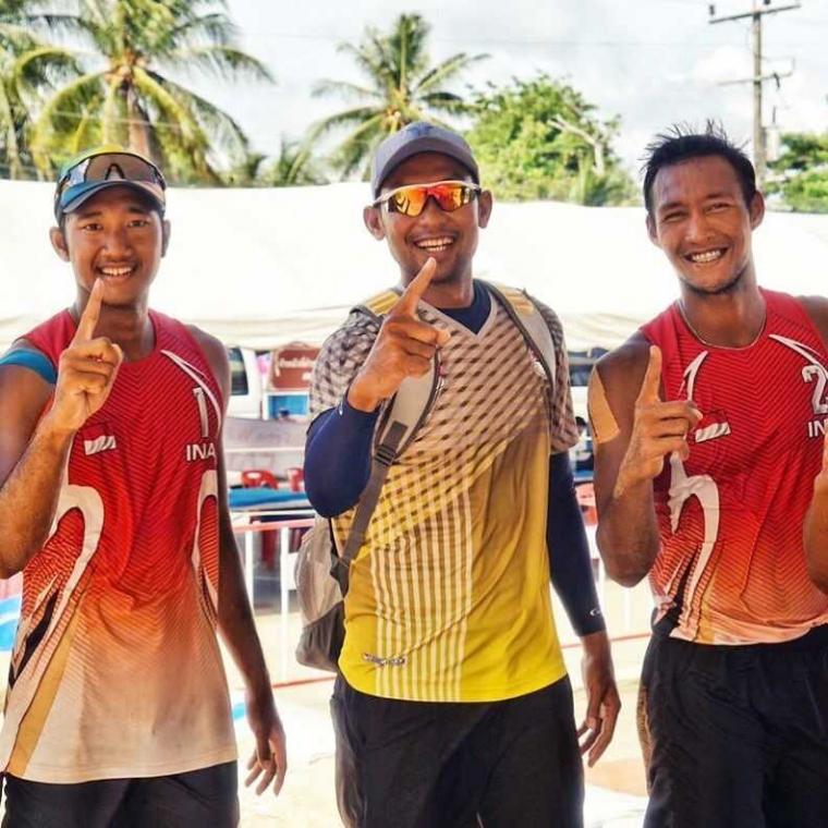 Tampil di Kejuaraan Dunia Voli Pantai, Indonesia Tak Patok Target Muluk