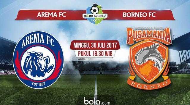Arema FC Buang Peluang di Laga Penutup Putaran Pertama Liga 1
