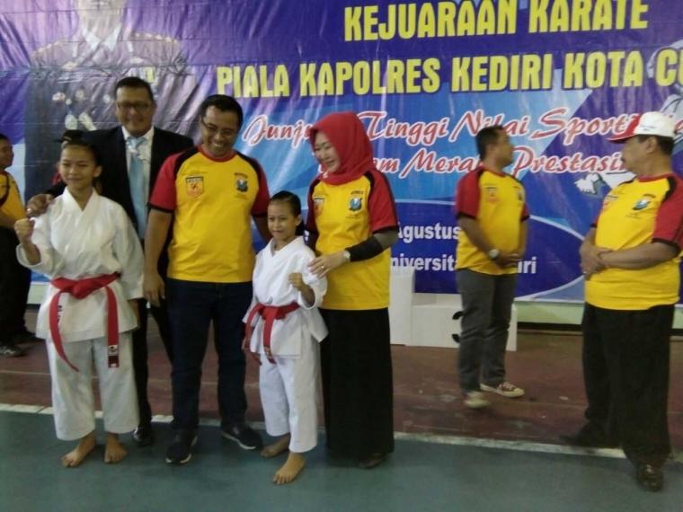Opening Kejuaraan Karate Dalam Rangka Kapolresta Kediri Cup 2017