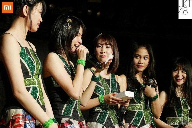JKT48 dan Mi Indonesia Resmi Menjalin Kerjasama