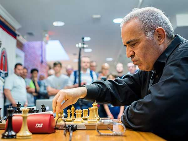 Kasparov is Back!