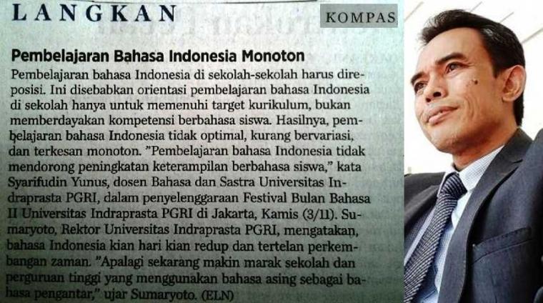 Pembelajaran Bahasa Indonesia: Ke Mana Arahnya ?