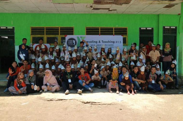 Komunitas Volunteer 1000 Guru Sulsel Akan Jajaki Kabupaten Maros