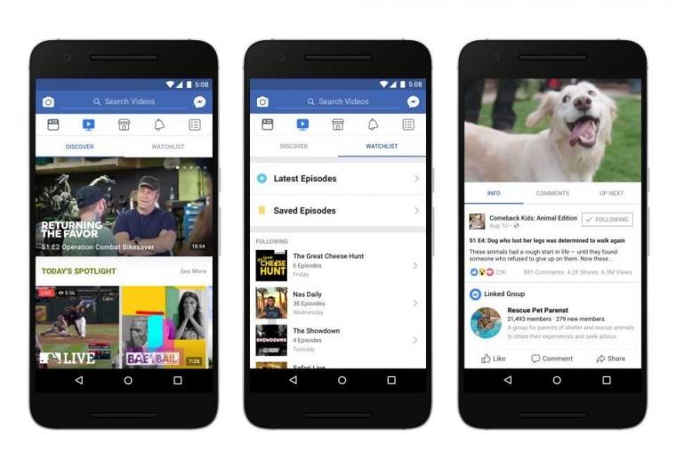 Mengintip Fitur Baru Facebook yang Akan Menyaingi Youtube
