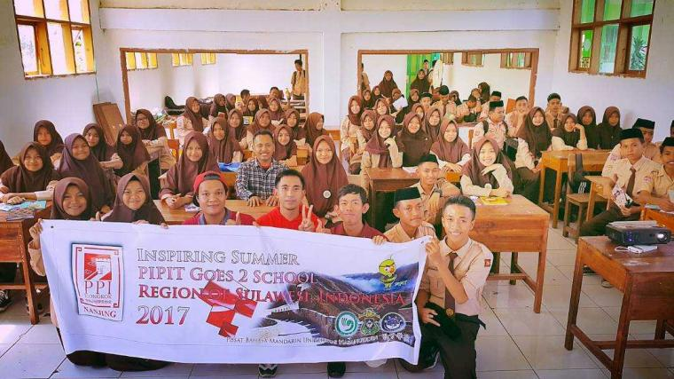 "PIPIT Goes 2 School Region of Sulawesi ""Inspiring Summer"" 2017"
