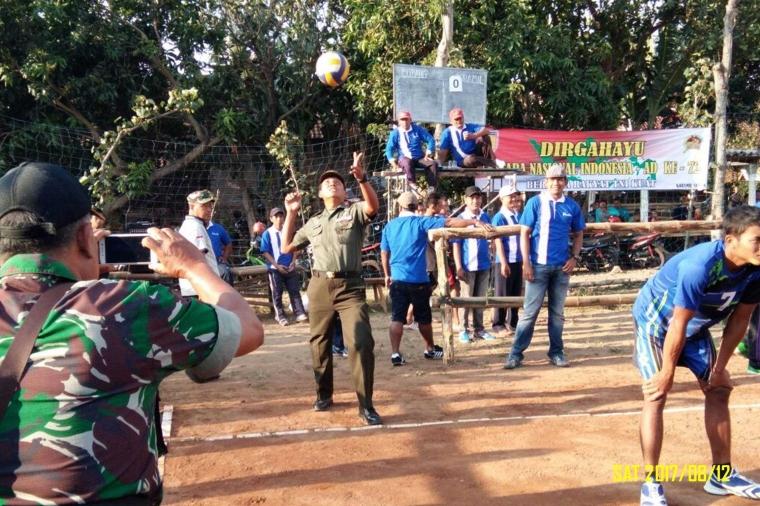 Sportivitas dalam Gelaran HUT TNI ke 72 di Kediri