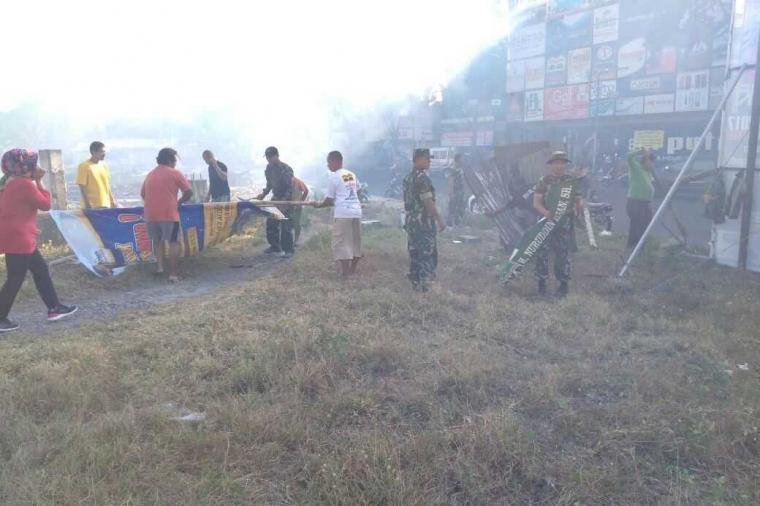 Kepedulian Lingkungan dan Keasrian Bantaran Sungai Brantas Lewat Gotongroyong